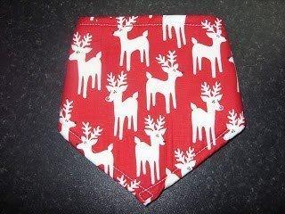 Red Reindeer Bandana
