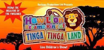 How Lion Became King of Tinga Tinga Land