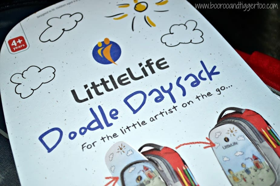Boo Roo and Tigger Too: LittleLife Doodle Daysack Review