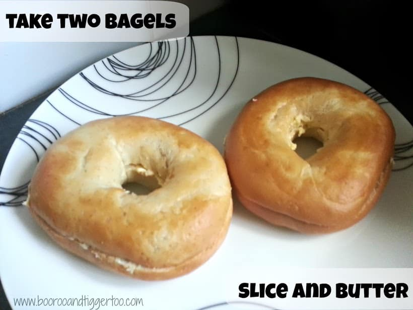 Boo Roo and Tigger Too: McCain Hash Browns Breakfast Bagel