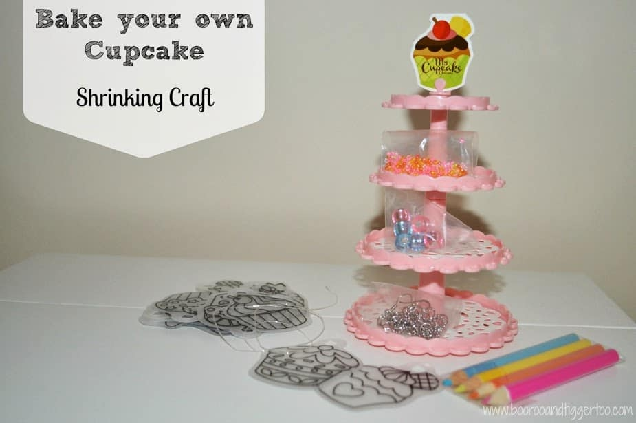 Bake Your Own Cupcake Shrinking Craft