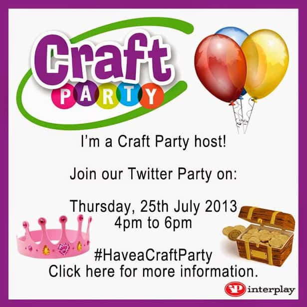 I'm a Craft Party Host! #HaveaCraftParty