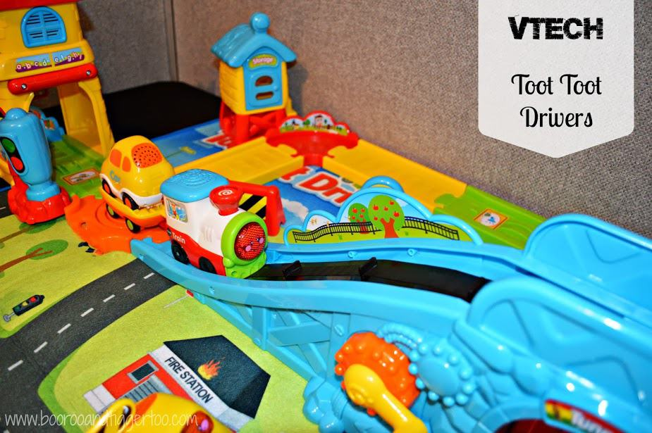 Christmas in July: Vtech - Toot Toot Drivers