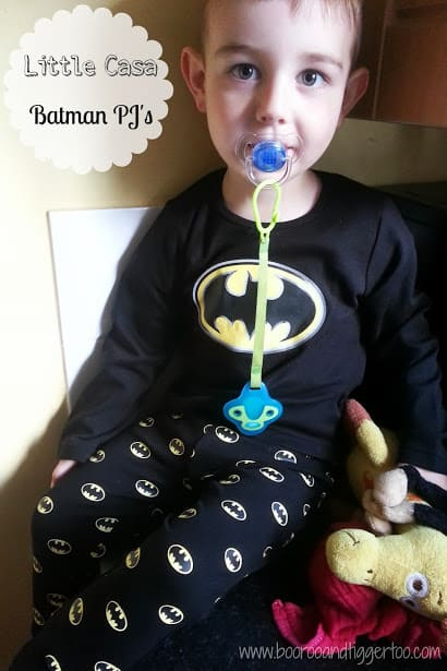 Boo Roo and Tigger Too: Little Casa - Batman Pyjamas