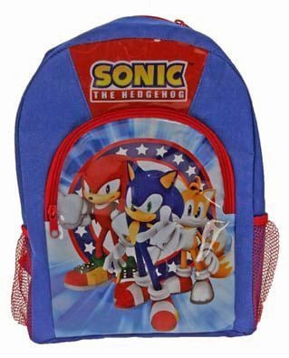 Back to School with Sonic the Hedgehog Rucksack
