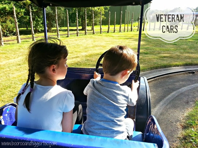 Veteran Cars - Pleasurewood Hills, Lowestoft
