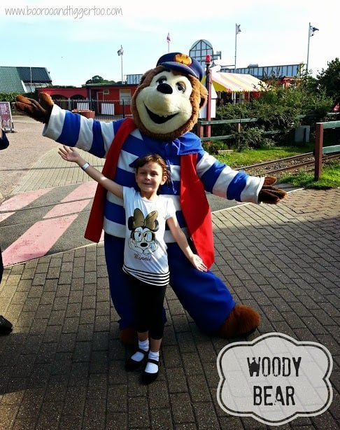 Woody Bear - Pleasurewood Hills, Lowestoft