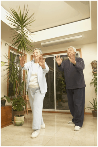 Exercise for the elderly - tai chi