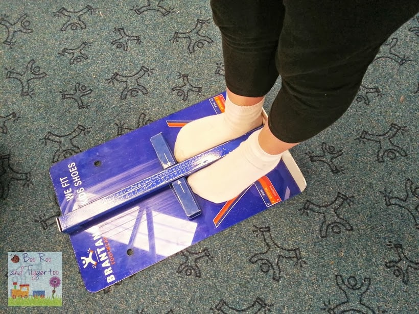 Brantano feet measuring