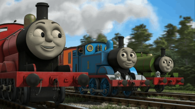 King of the Railway - James, Thomas and Percy