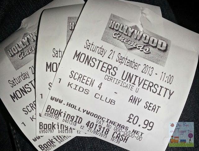 Monsters University #KidsClub