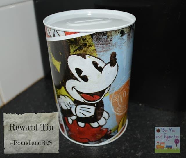 Poundland Back to School Reward Tin #PoundlandB2S