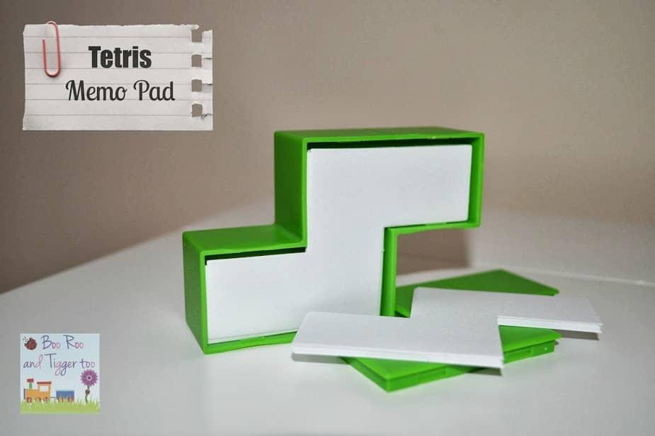 Tetris - Memo Pad