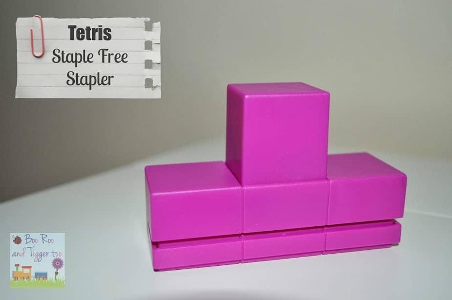 Tetris - Staple Free Stapler