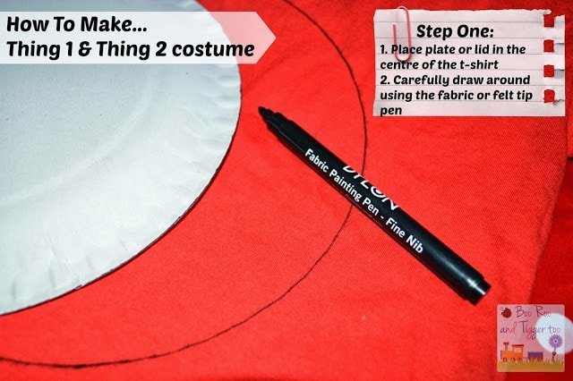 How To Make... Thing 1 and Thing 2 costume