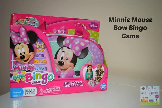 Minnie Mouse Bow Bingo Game
