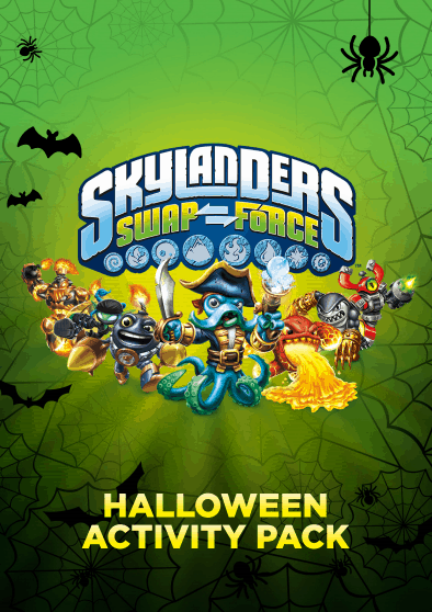 Skylanders SWAPForce Halloween Activity Pack