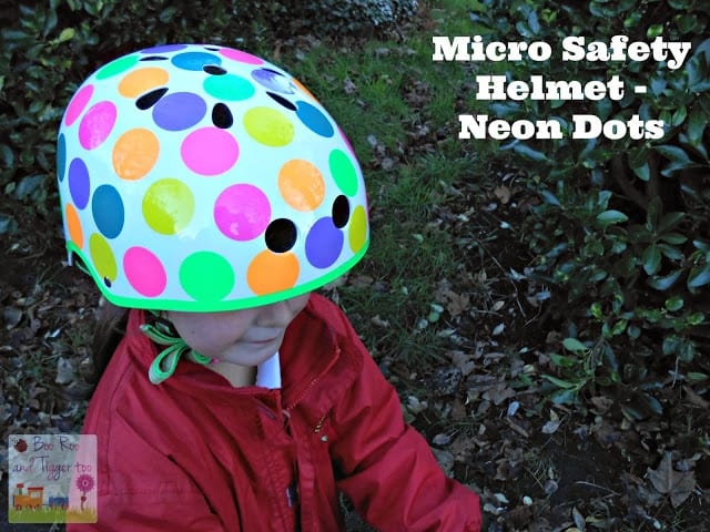 Boo Roo and Tigger Too - Micro Safety Helmet Review