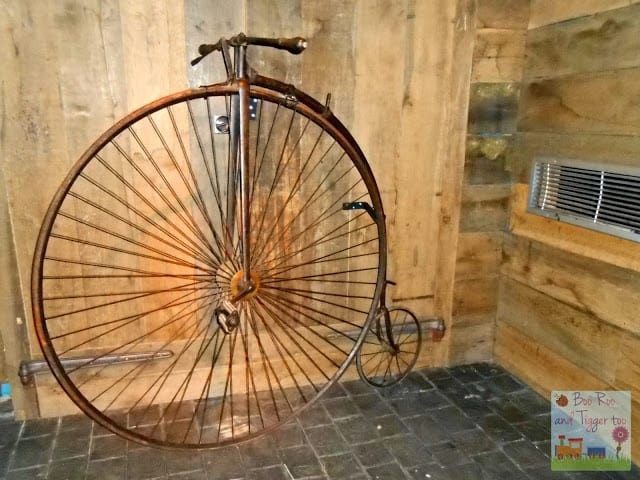 Museum of London - Penny Farthing Bicycle