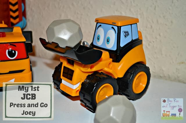 My 1st JCB Press and Go Joey JCB Toy Review
