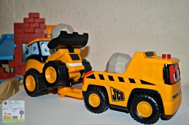 My 1st JCB Talking Rocco Rescue Toy Review