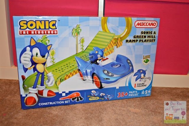 REVIEW: Meccano Sonic The Hedgehog – Sonic & Green Hill Ramp Playset