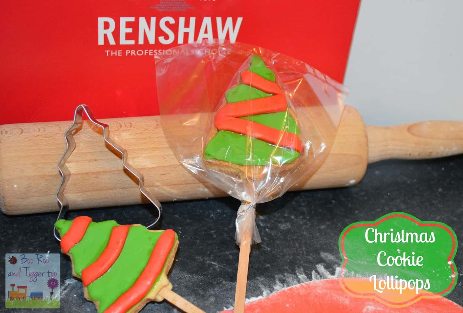 Christmas Cookie Lollipops Recipe