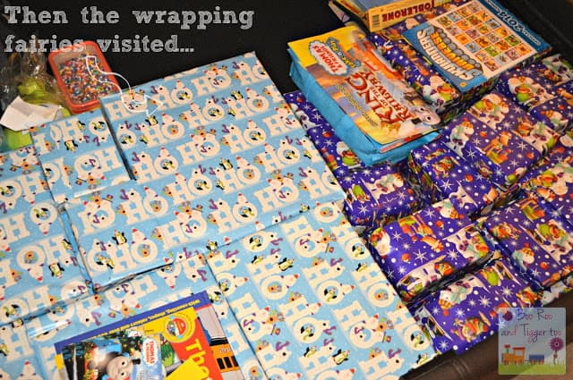 Then the wrapping fairies visited...