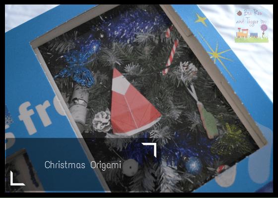 HP Christmas Advent Challenge - Christmas Origami