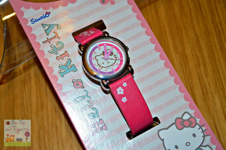 Hello Kitty Time Teacher Quartz Watch
