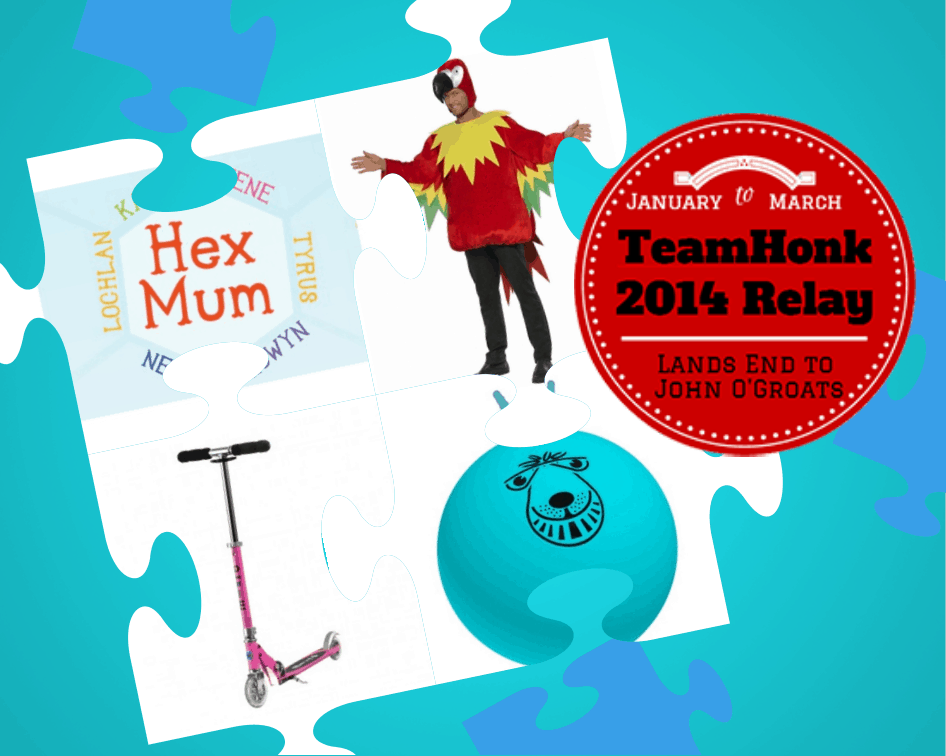 Hex Mum #TeamHonkRelay