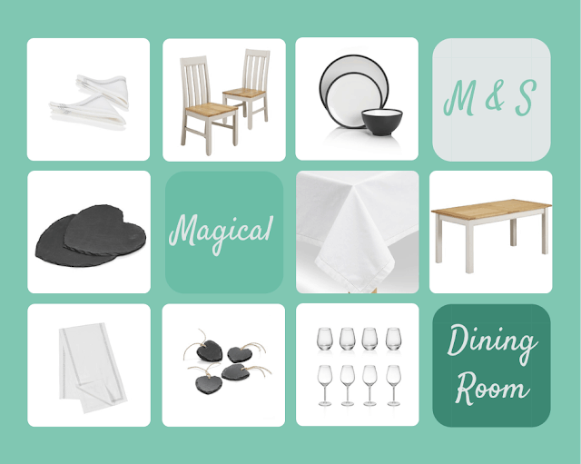 My M&S Magical Dining Room | Boo Roo and Tigger Too