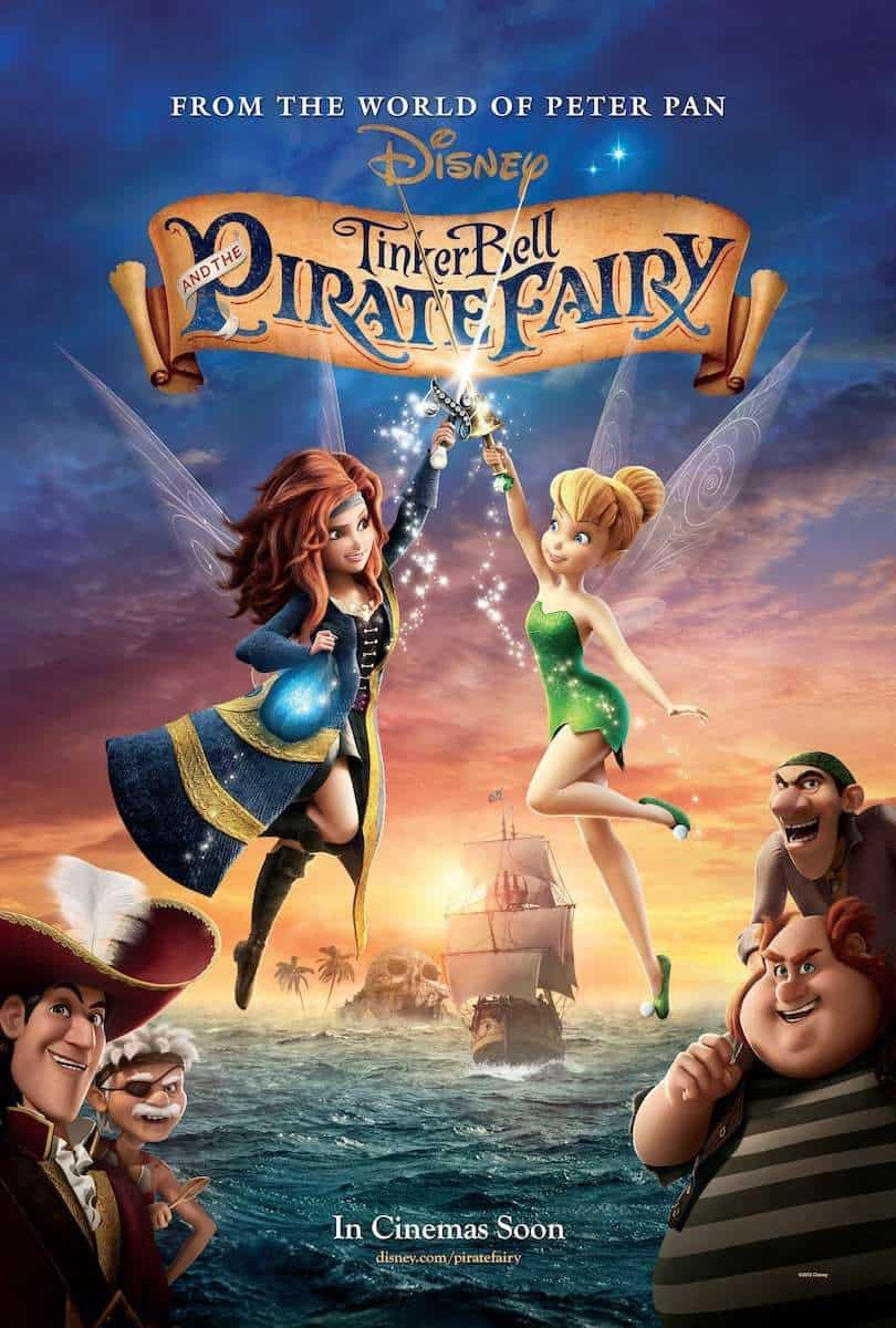 Tinker Bell and The Pirate Fairy - Movie Poster