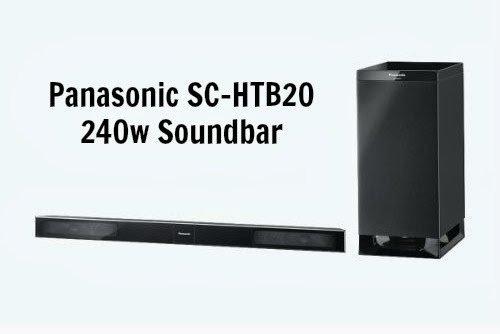 Panasonic Home Cinema Sound Bar SC-HTB20 {#Review}