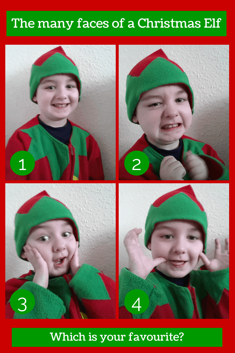The many faces of a Christmas Elf {Ordinary Moments}