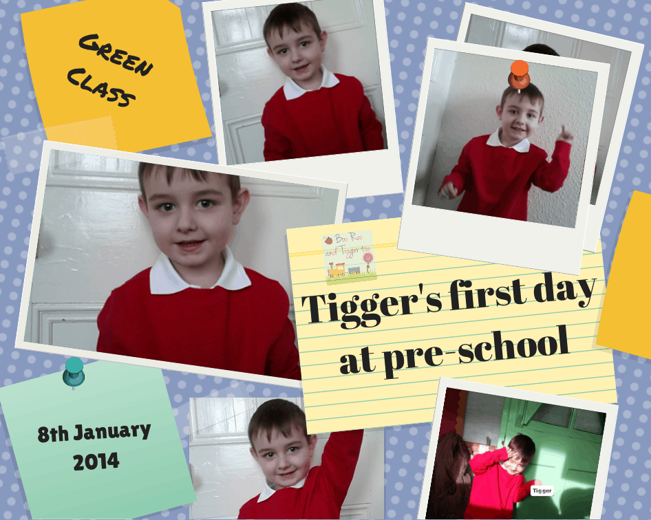 Boo Roo and Tigger Too: Tigger's first day at pre-school