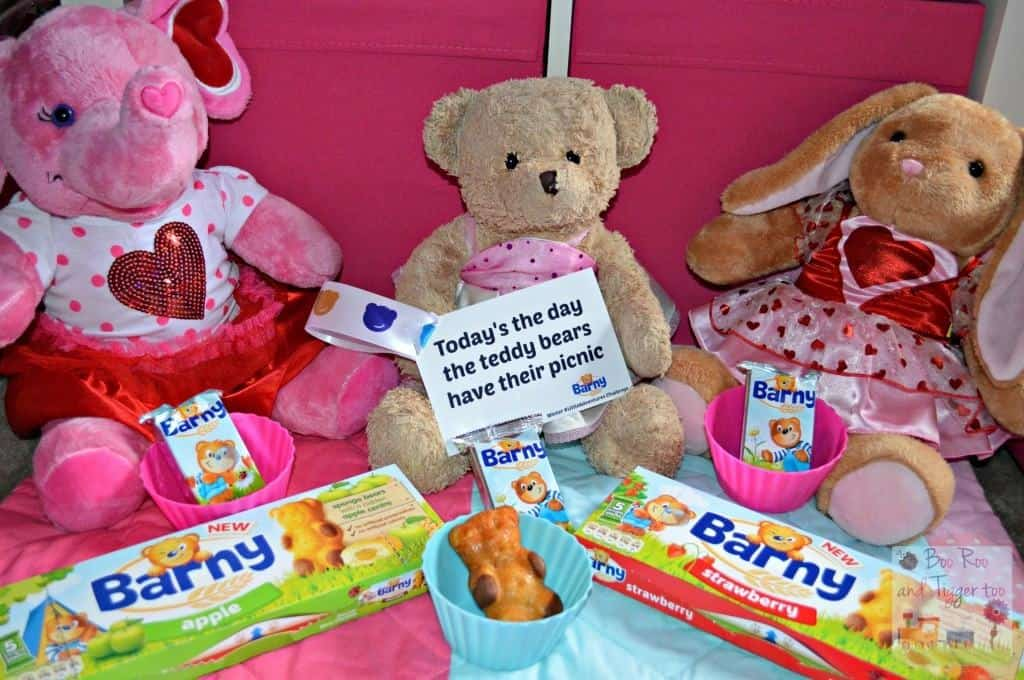 8. Today's the day the teddy bears have their picnic.