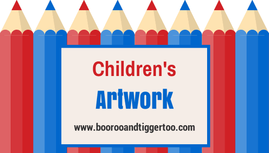 Children's Artwork | Boo Roo and Tigger Too