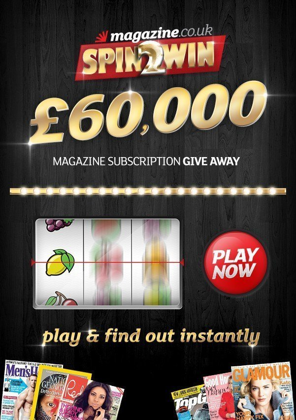 Magazine.co.uk Spin2Win