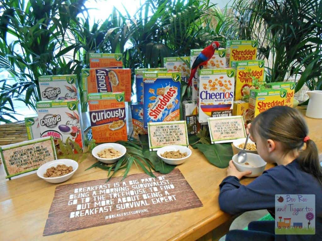 Nestle #Breakfast Survival - Eating Cereal