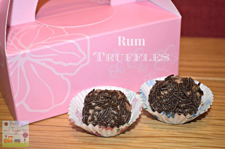 Valentine's Day - Rum Truffles