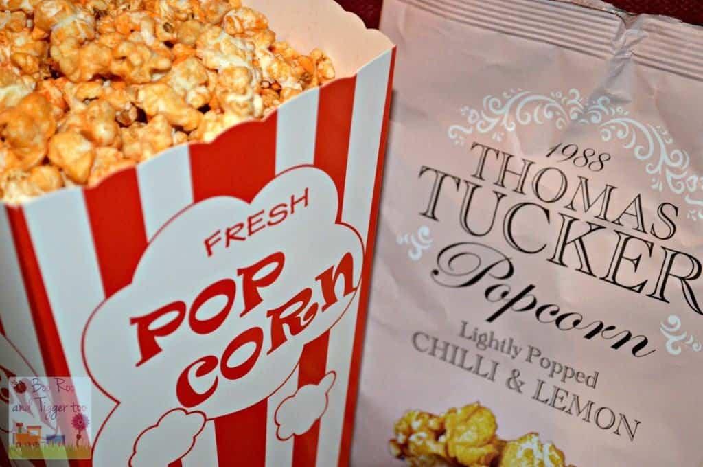 Thomas Tucker Gourmet Popcorn - Chilli & Lemon