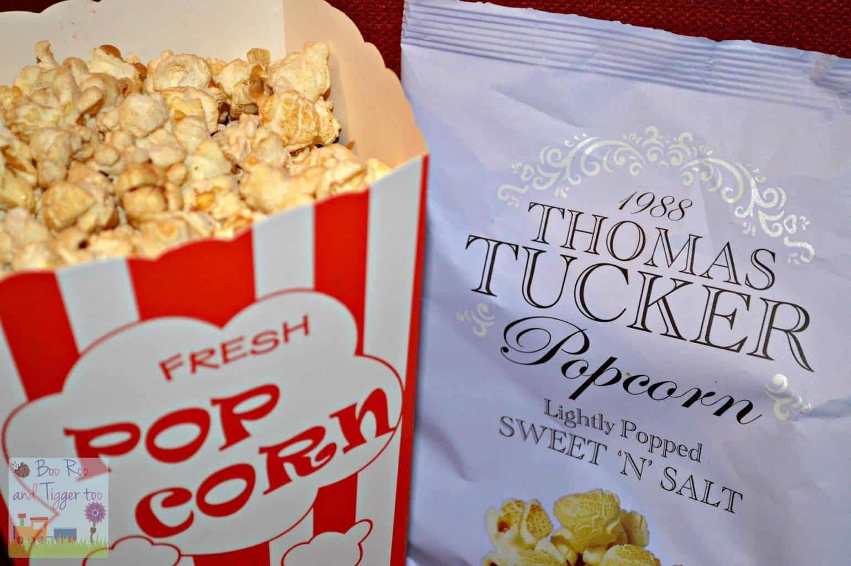 homas Tucker Gourmet Popcorn - Sweet n Salt