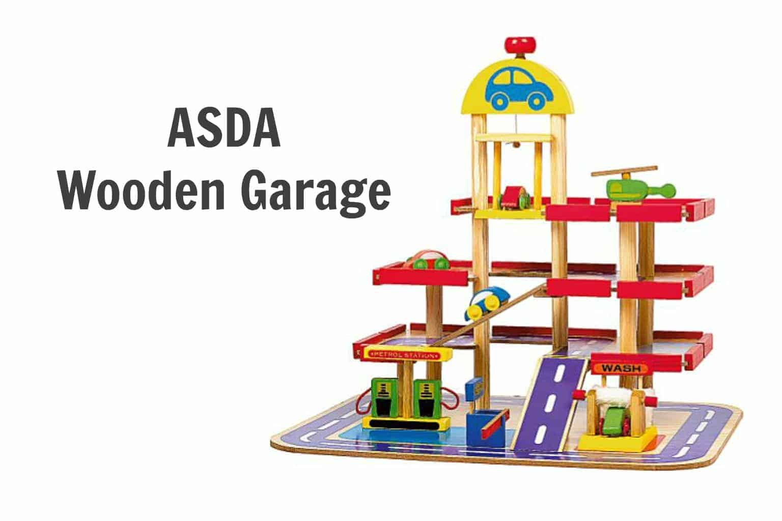 Wooden Garage - ASDA