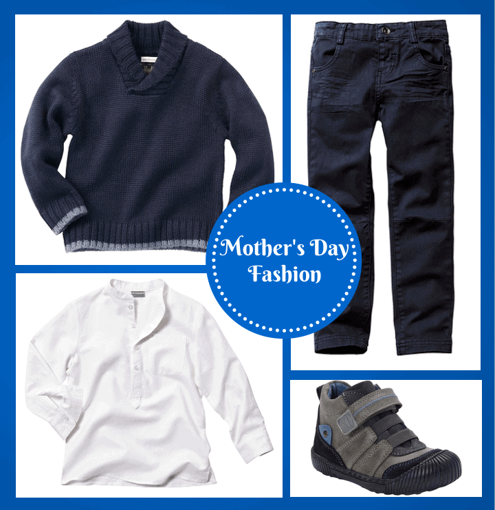 Vertbaudet Boys Mother's Day Fashion