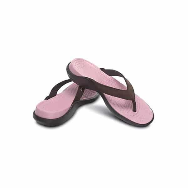 Crocs Capri IV Espresso/Petal Pink