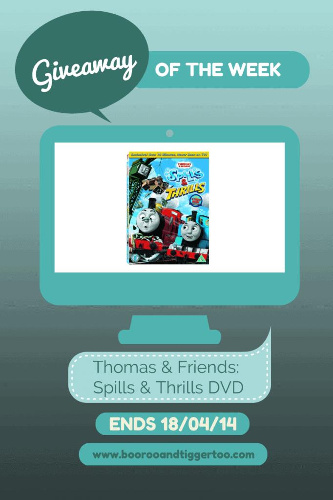 Giveaway - Thomas & Friends Spills & Thrills DVD
