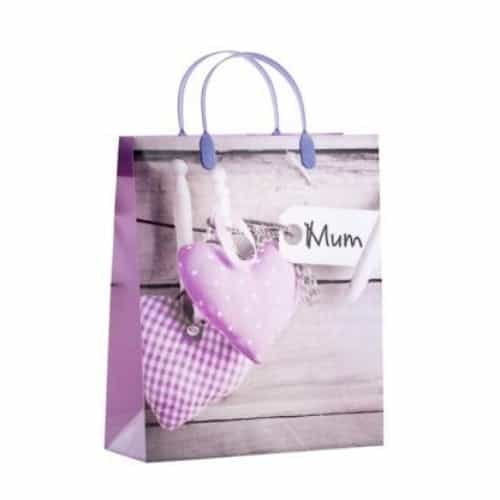Mother's Day Heart Decorations Gift Bag Large