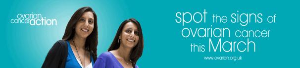 Ovarian Cancer Awareness Month Banner