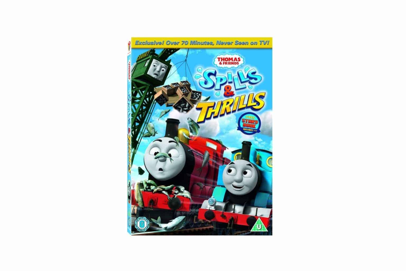 Thomas & Friends Spills & Thrills DVD